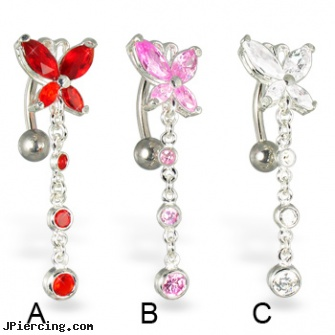 Belly button rings, Navel Rings, Nose rings, piercing